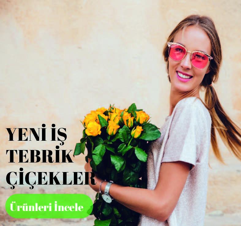 Yeni İş Tebrik Çiçeği